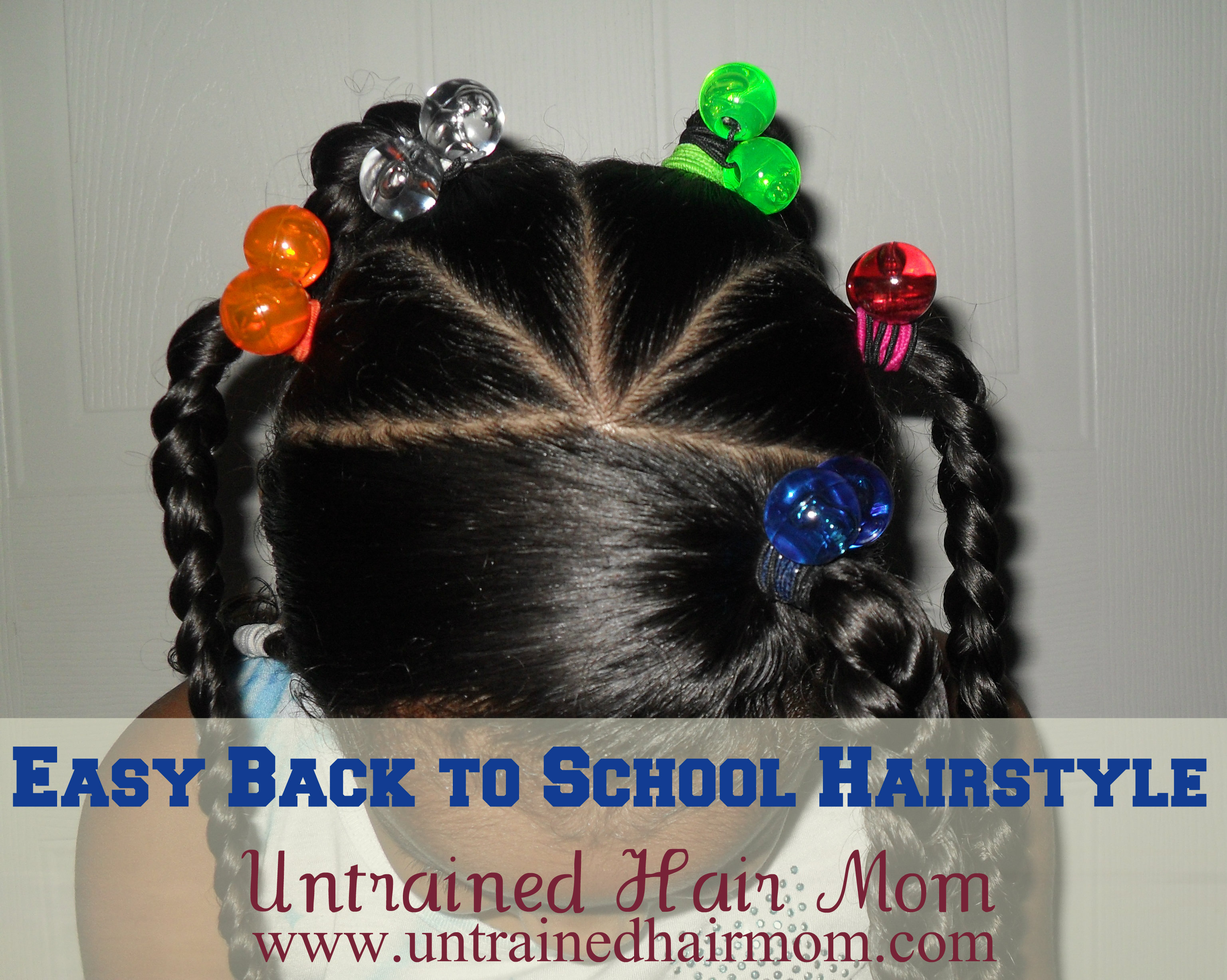 Easy Hairstyles for Mixed Girls Hair