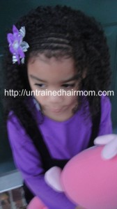 Flat Twist Hairstyle