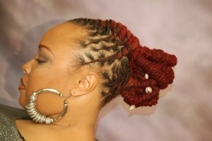 color and hairstyles for dred locs