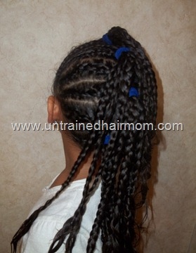 black kid hair styles