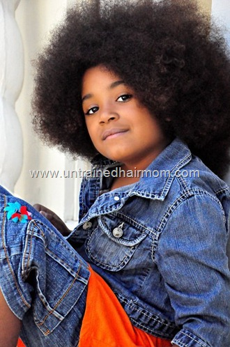 kids with natural hair afro