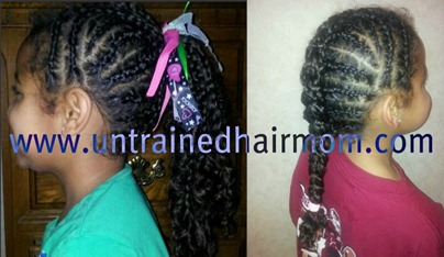 cornrow faux hawk styles
