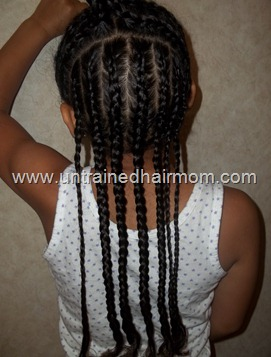 Creative, Basic Cornrow Styles for Kids