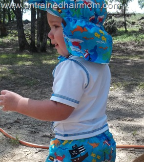 Protective Sun Hat for Toddler