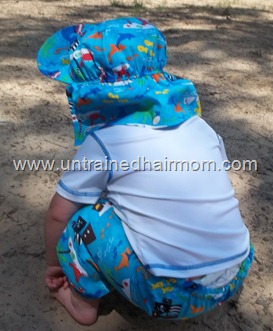 Protective Sun Gear for Baby