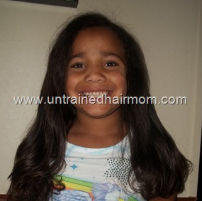 natural hair care for kids