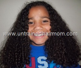 kids natural hair care