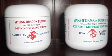 natural styling pomades