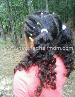 rolling twists hairstyle