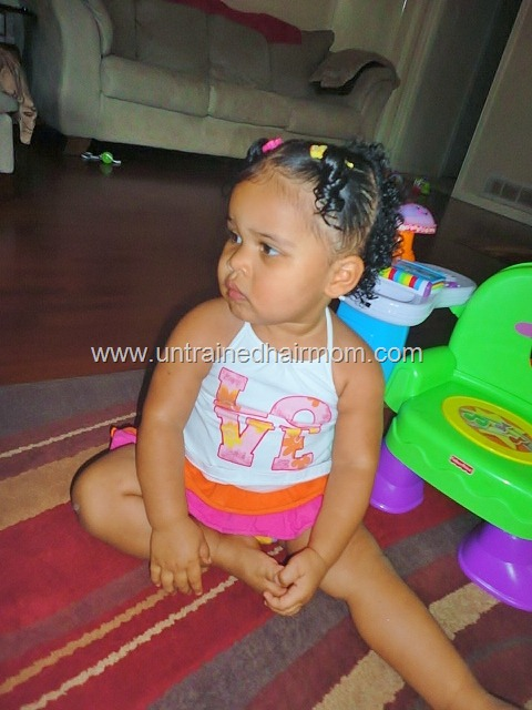 Hairstyles For Black Toddlers With Short Hair Rubber Band Rubber