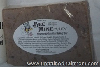 Bee Mine - Purity Rhassoul Clay Clarifying Bar