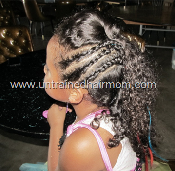 cornrows and curls