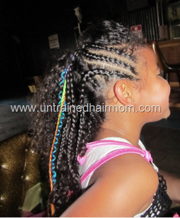 easy cornrows