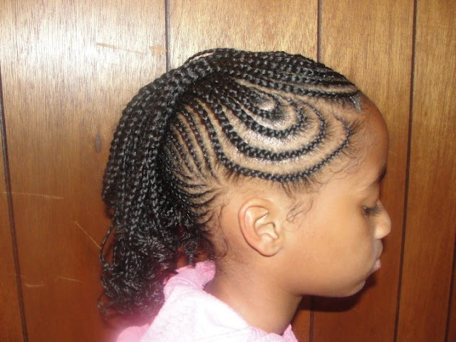 Cornrow hairstyles for children ~ Hair is our crown