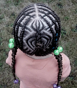 spider cornrows