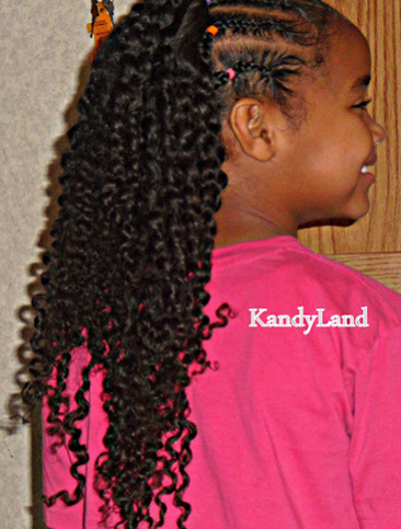 Elongated twist out with no shrinkage