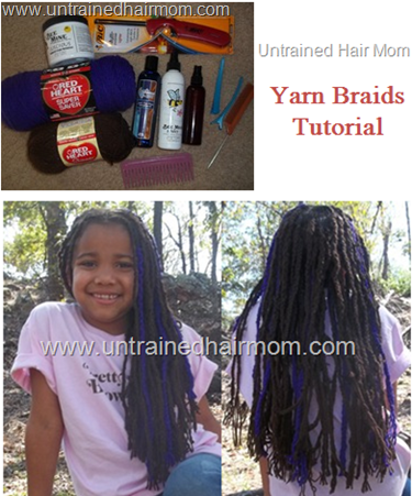 yarn braids tutorial