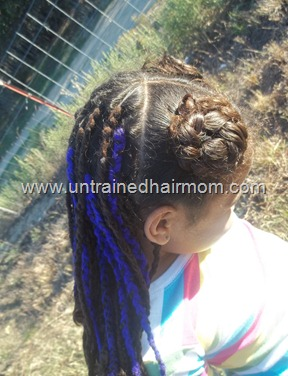 yarn braids for kids