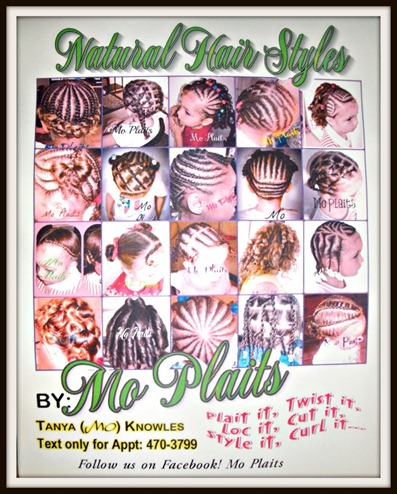 mo plaits natural hair stylist