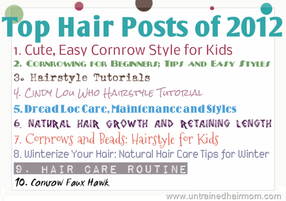 top hairstyle posts 2012