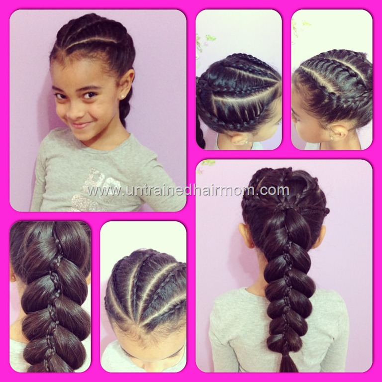Braid Hairstyle Cornrow Styles