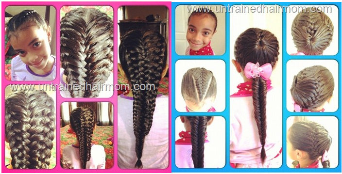 Remarkable Girls Braid Hairstyles Hairstyles For Women Draintrainus