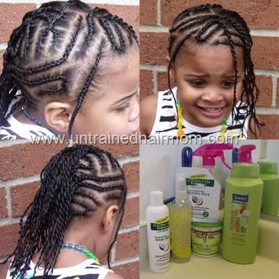 cornrows twists and natural hair care products