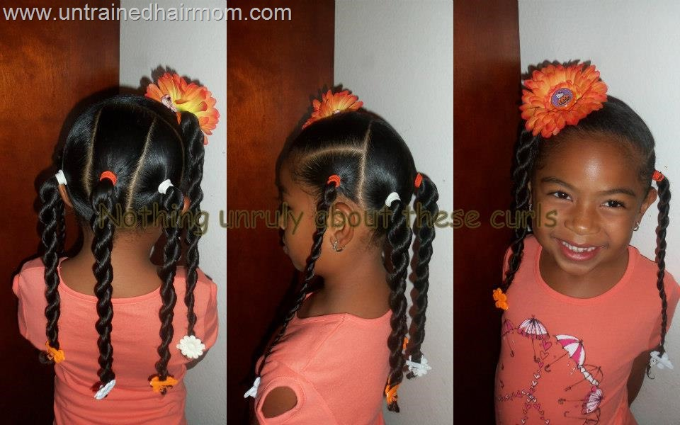 Quick Little Black Girl Hairstyles
