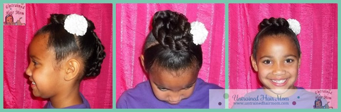 School picture hairstyle