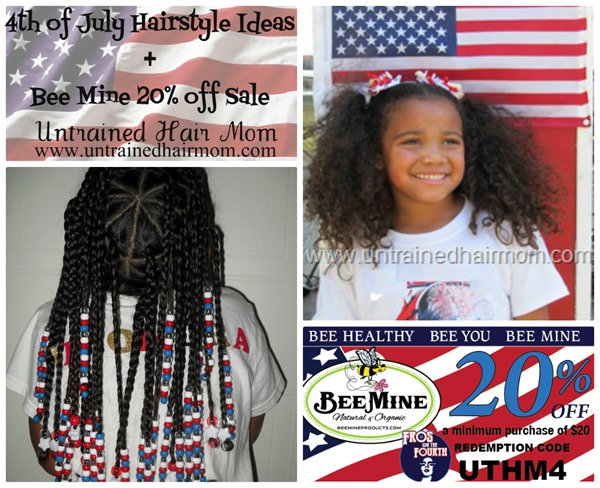 fourth of july hairstyles and bee mine sale