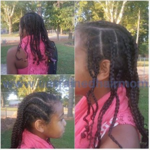 box braids cornrows