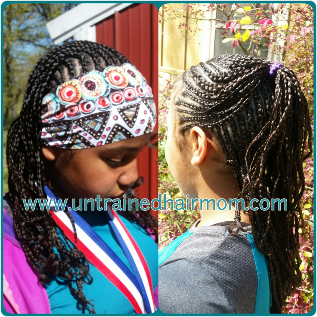 tween hairstyles cornrows